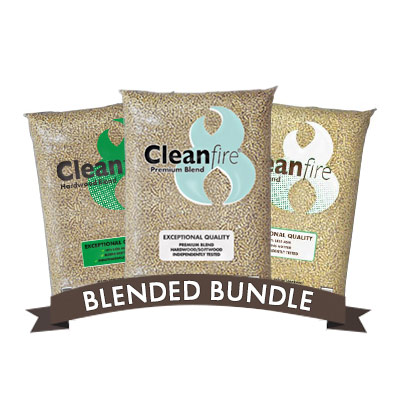 Woodpellets.com 3-Ton Blended Bundle